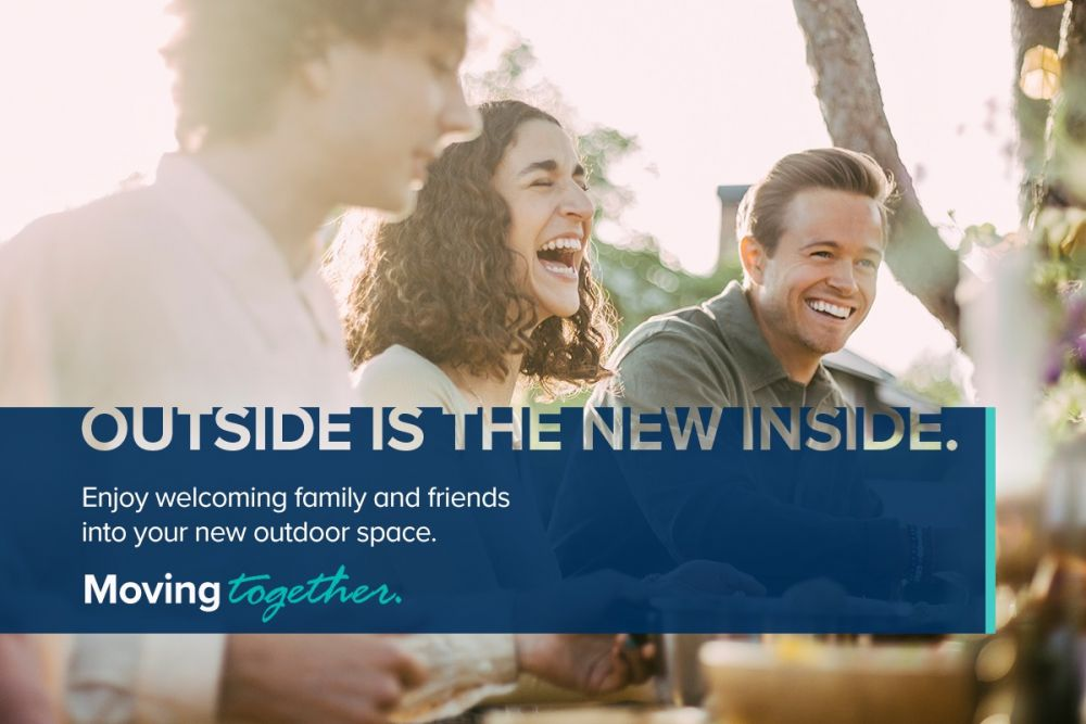 outside is the new inside