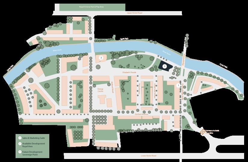 Bath Riverside plan