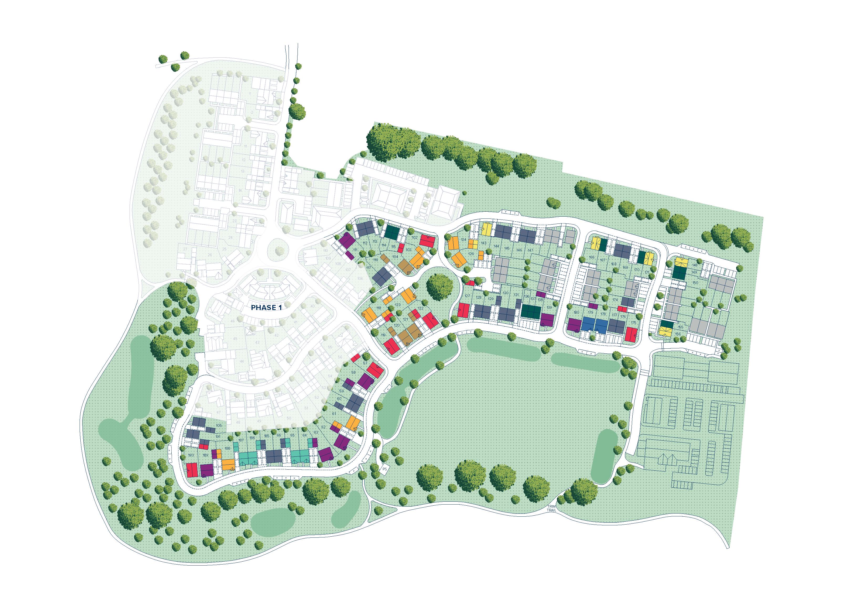Highlands Park plan