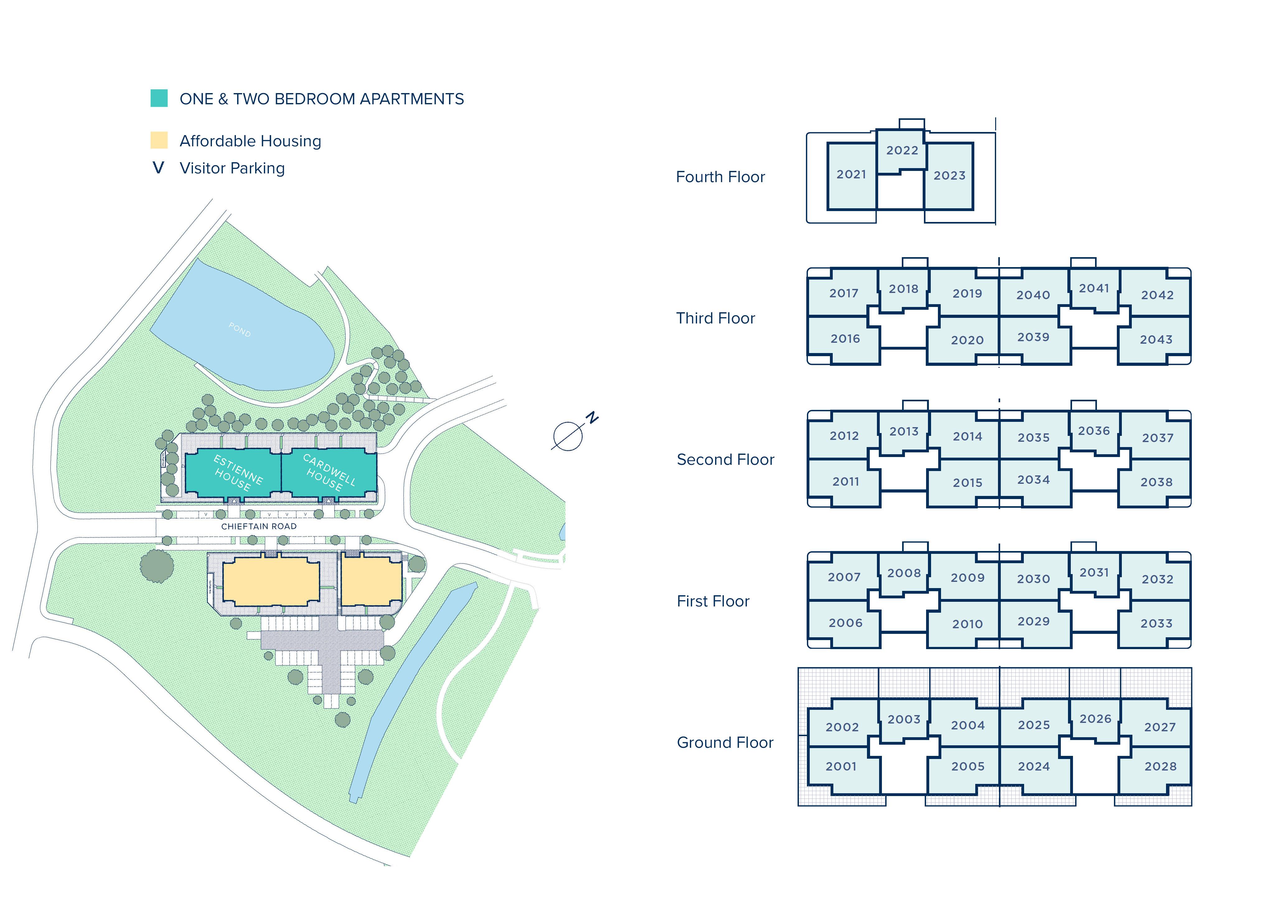 Upper Longcross plan