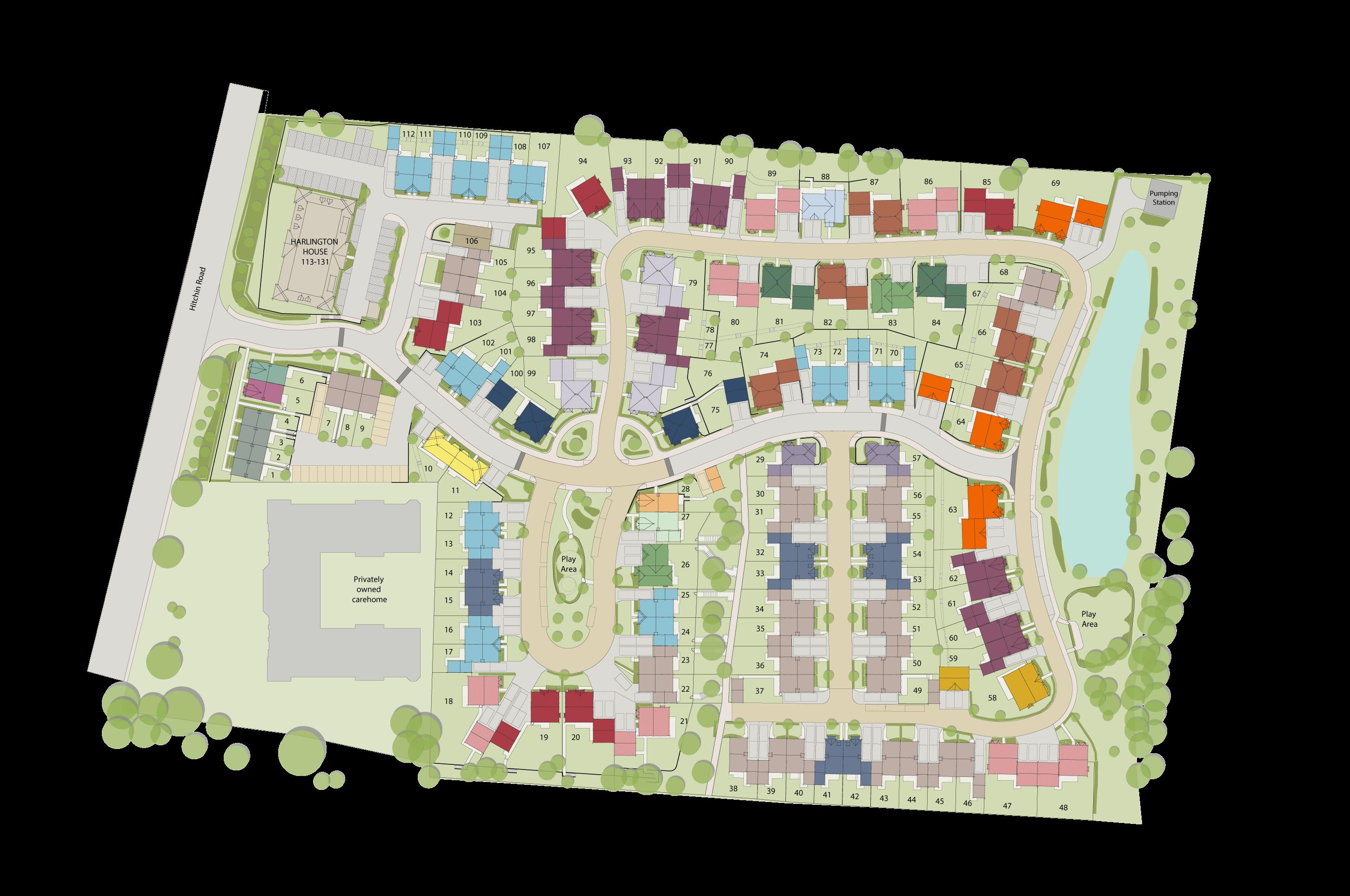 Fairfield Gardens plan