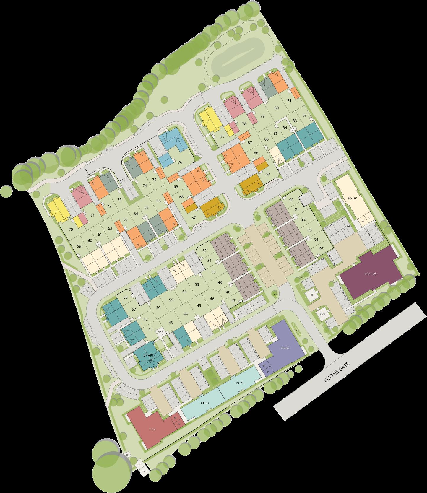 Woodlands Park plan
