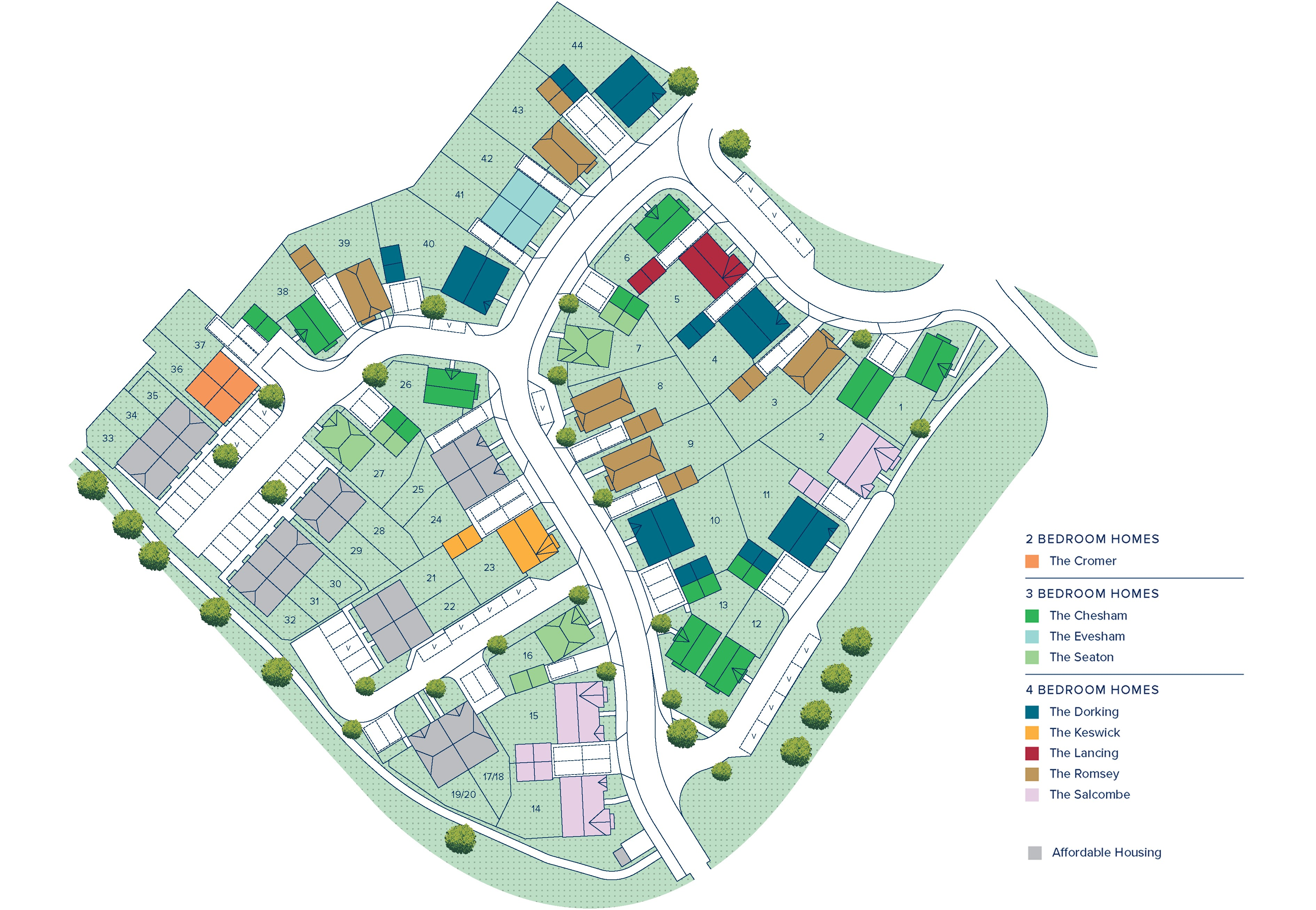 Ackender Hill plan