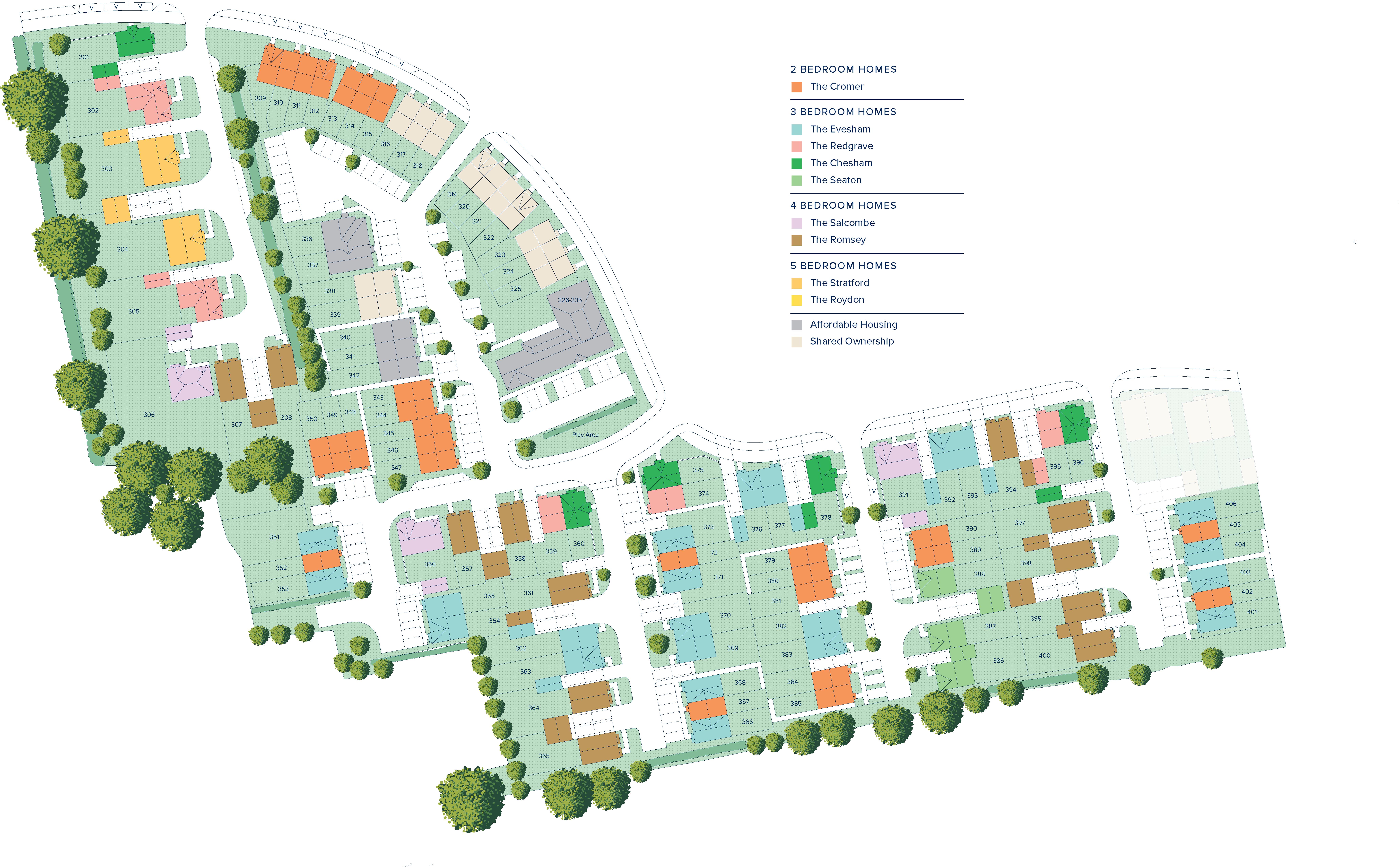 Westvale Park plan