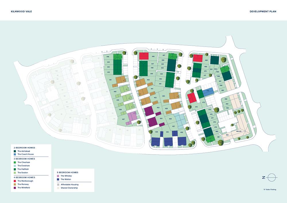 Kilnwood Vale plan