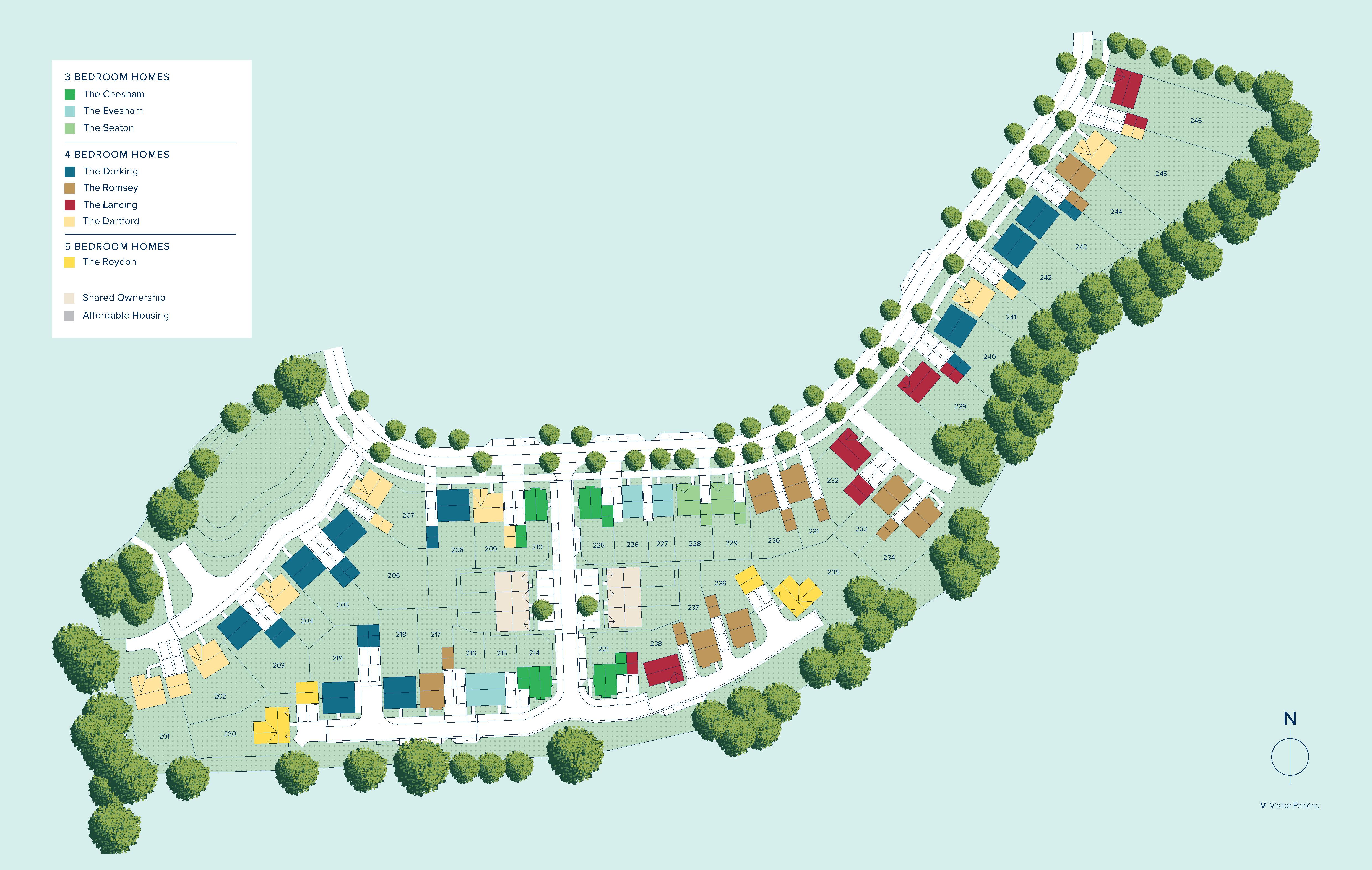 Longhurst Park plan