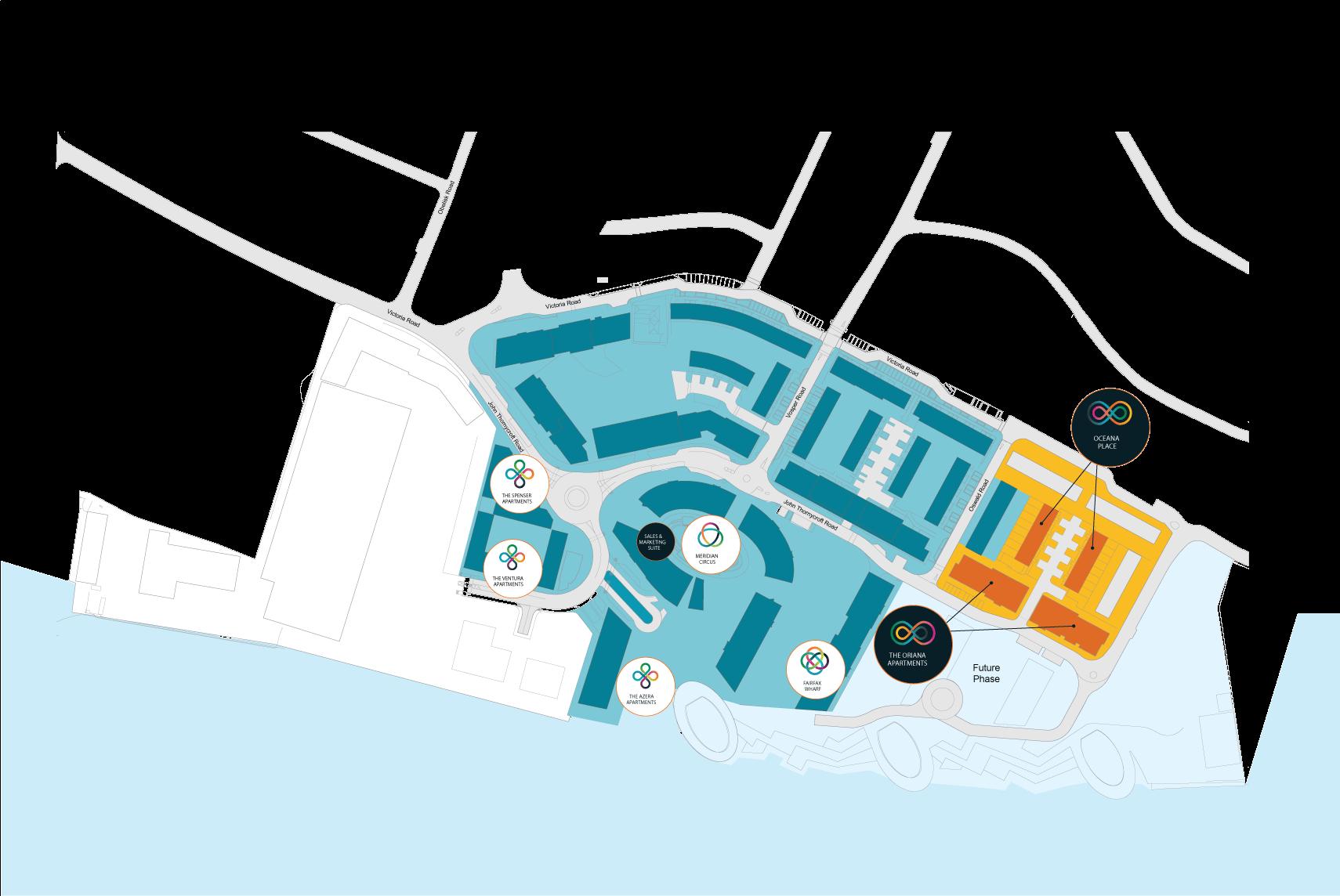 Centenary Quay plan