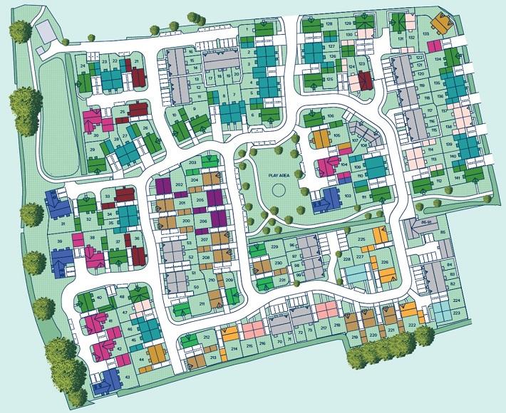 Langford Fields plan