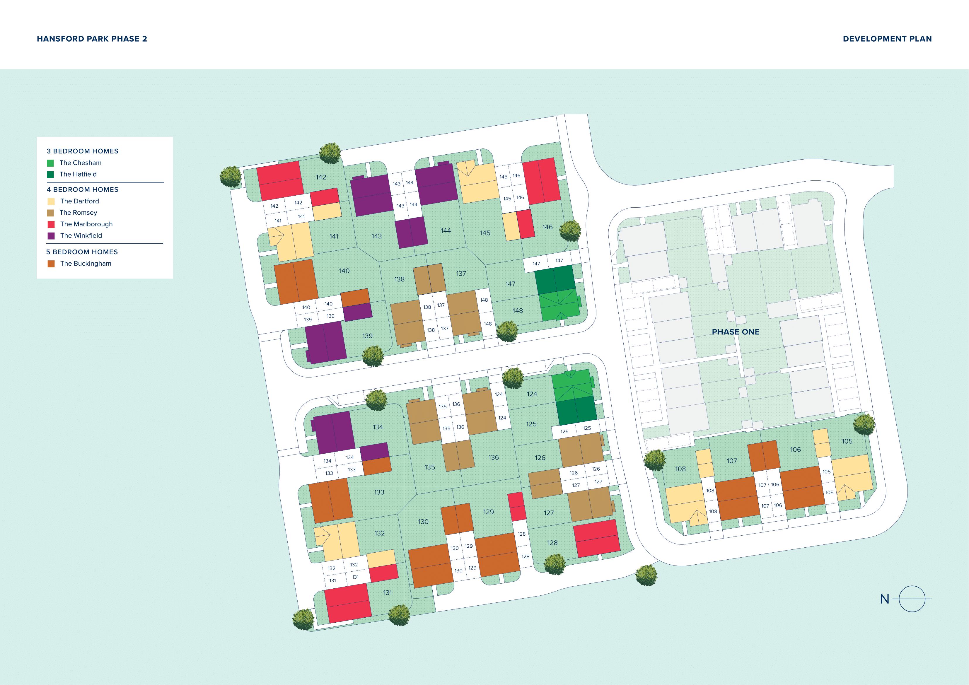 Hansford Park plan