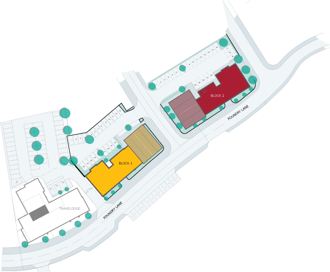 Langley Point plan