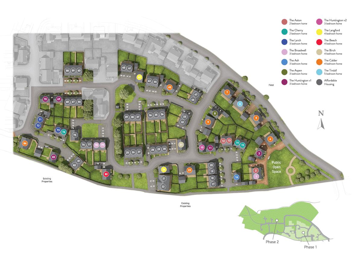 Green Acres at Alrewas plan
