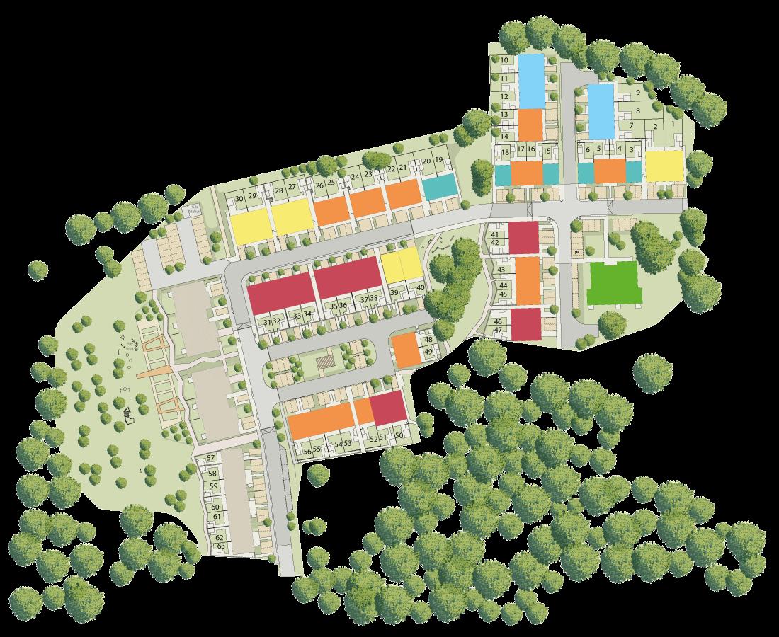 Lancaster Grange plan