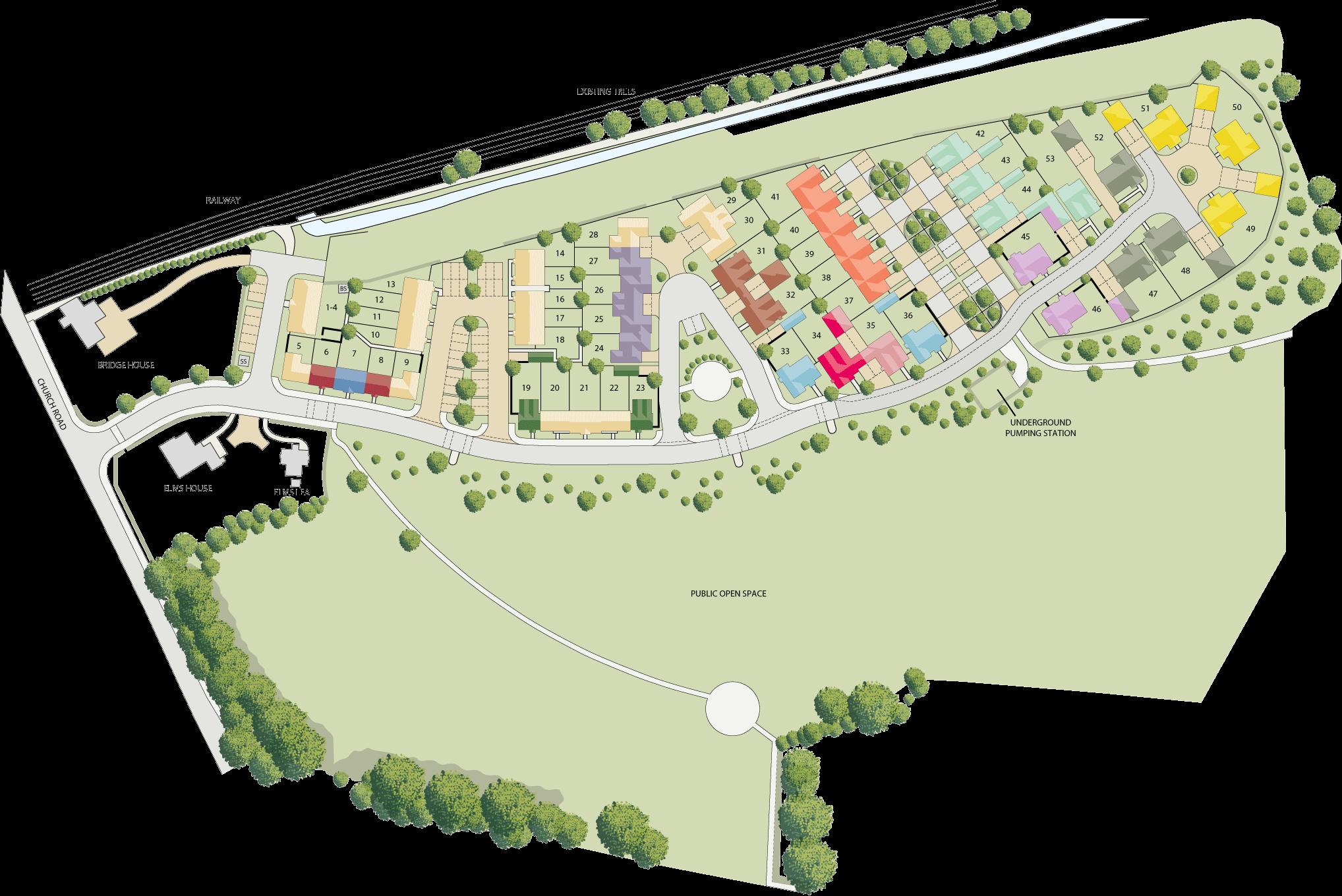 Elms Farm plan