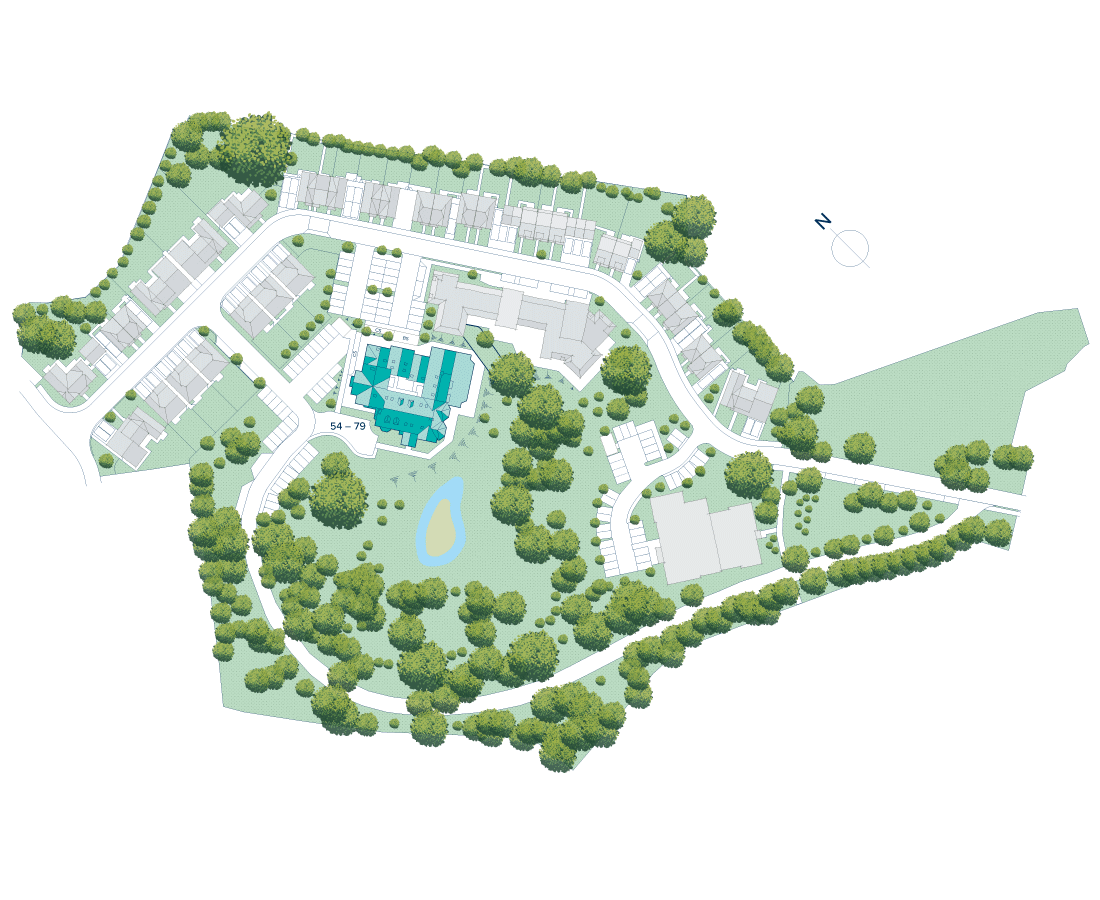 Manor House at Bournville Park plan