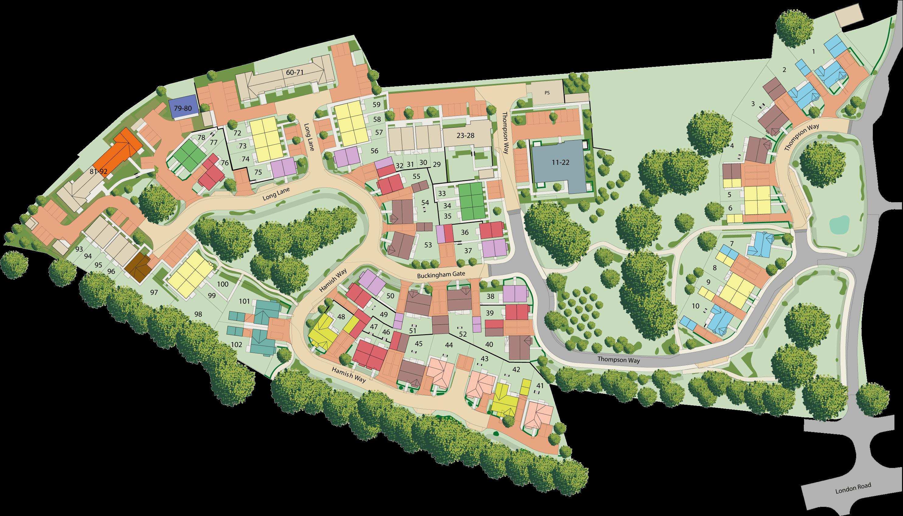 Hoadlands Grange plan