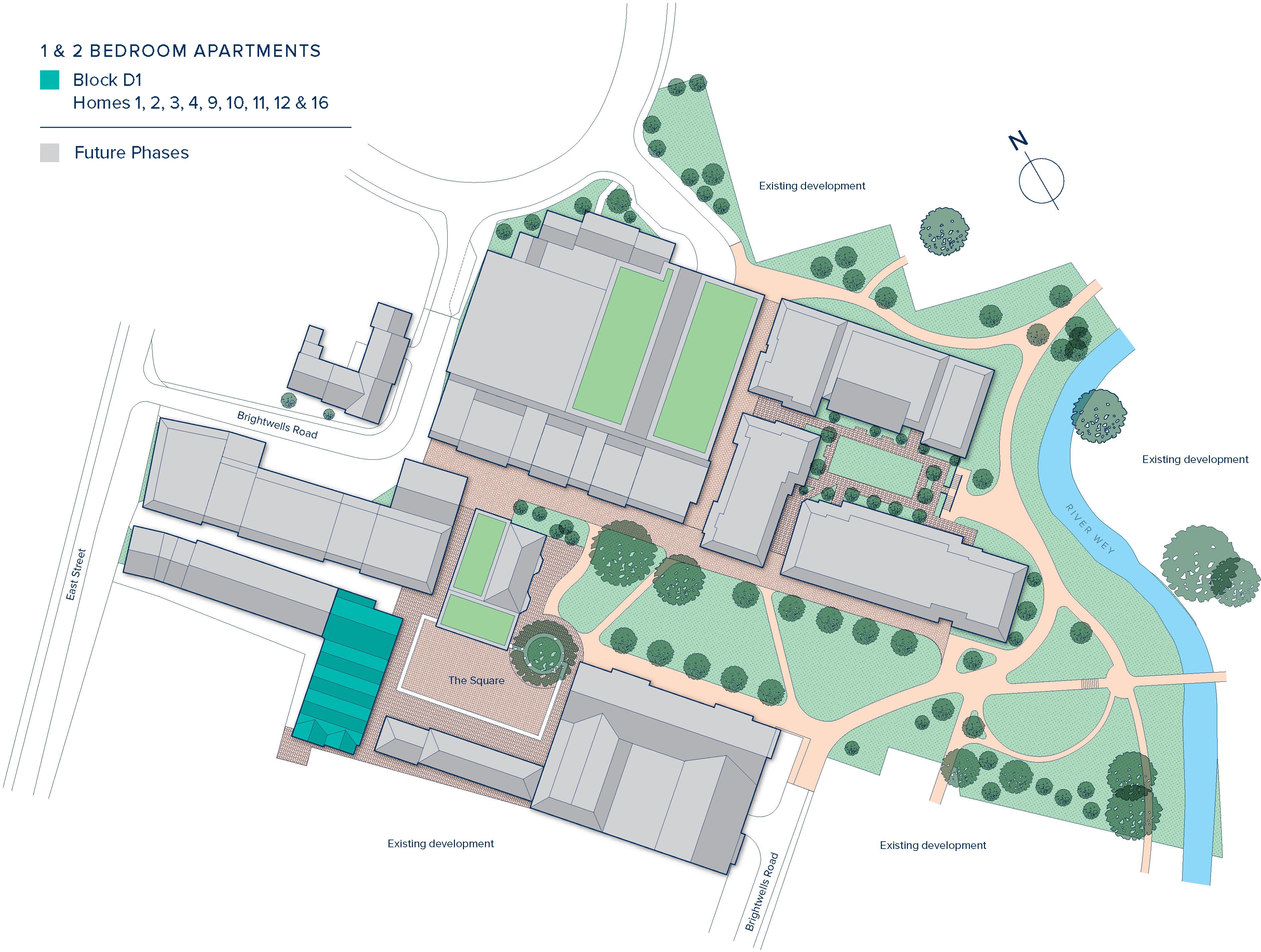 Brightwells Yard plan