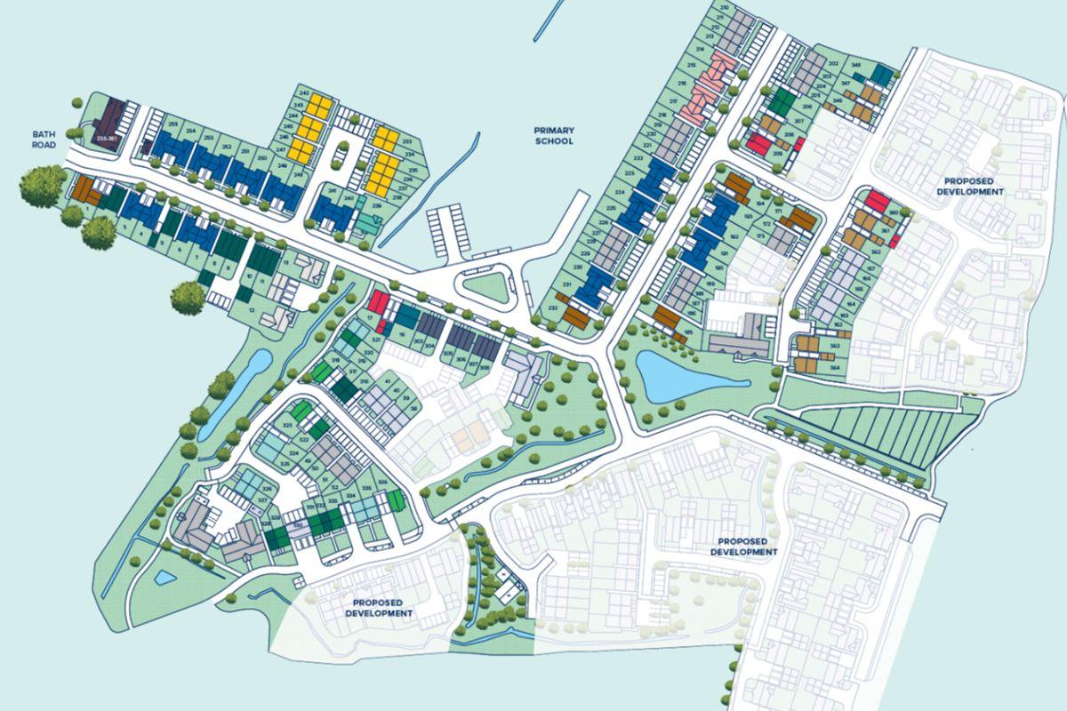 Hygge Park at Keynsham plan