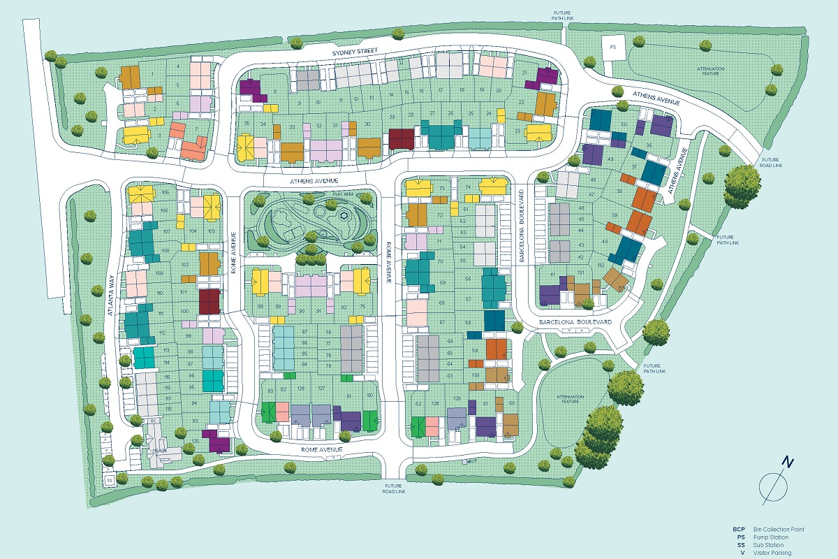 Harborne Manor plan