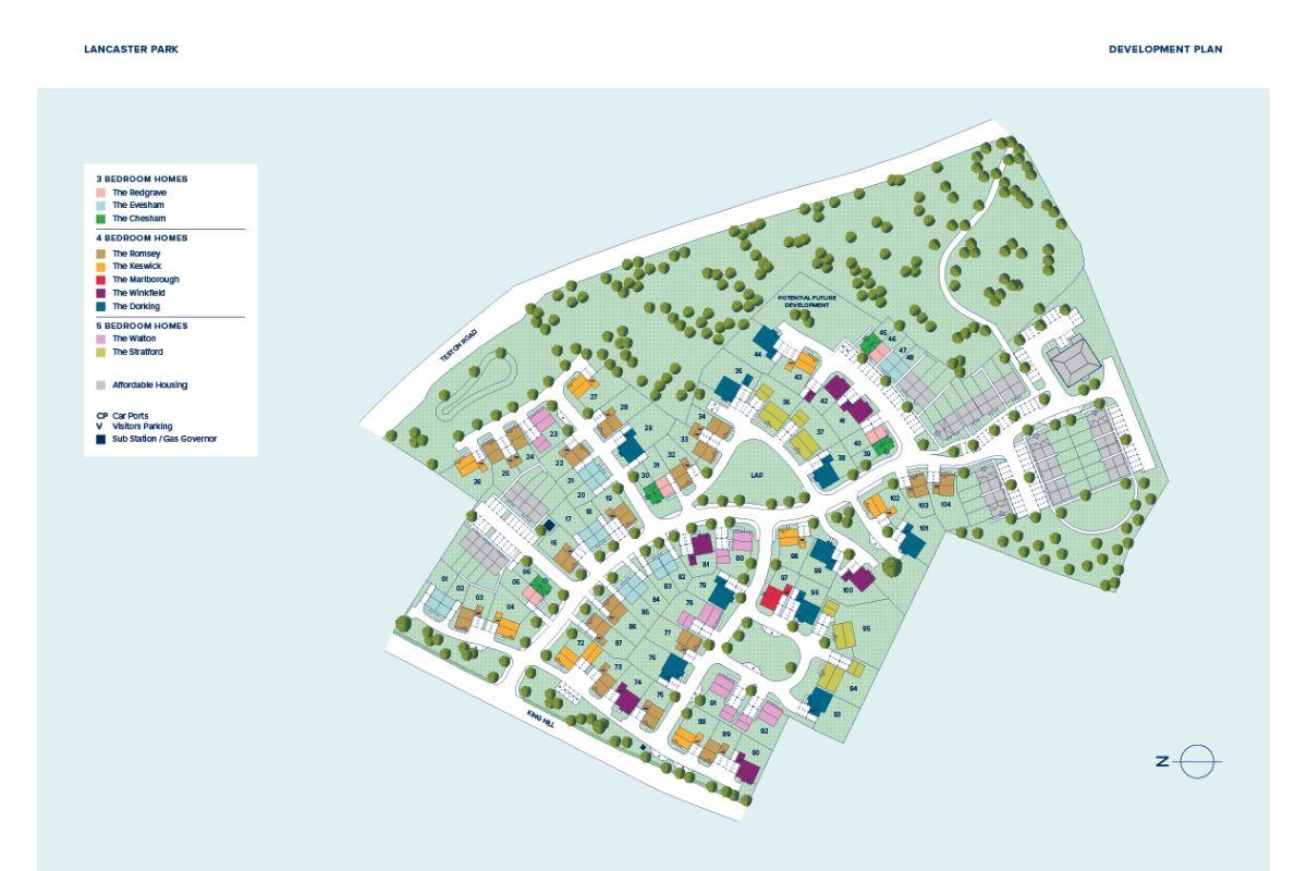 Lancaster Park plan