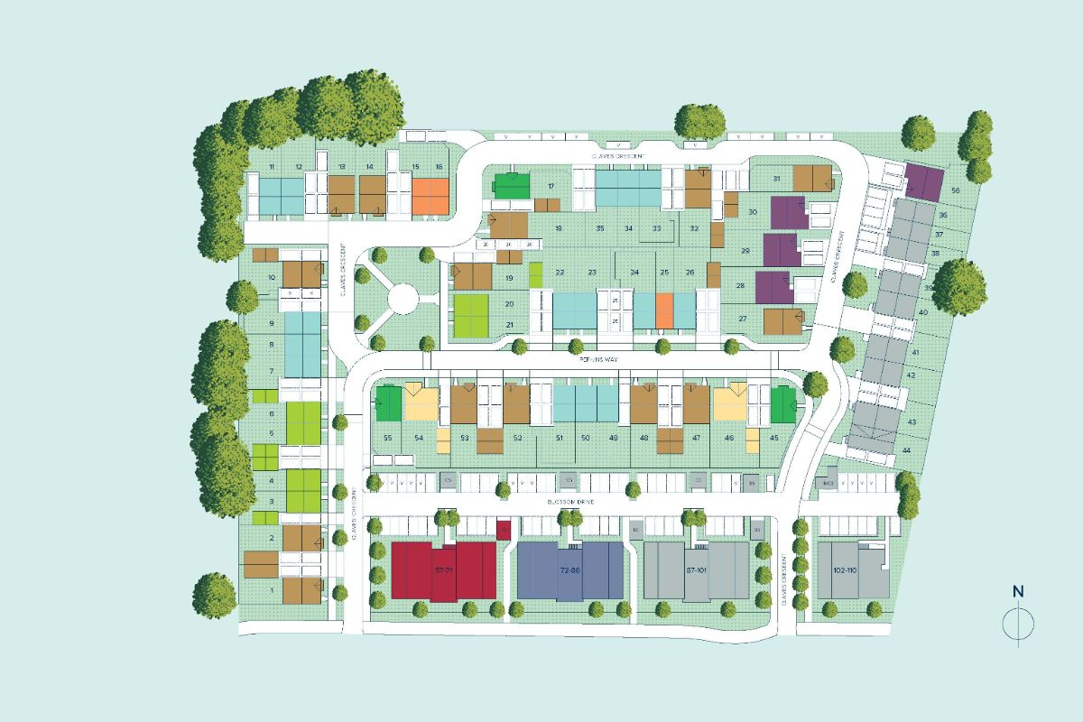 Willow Place plan