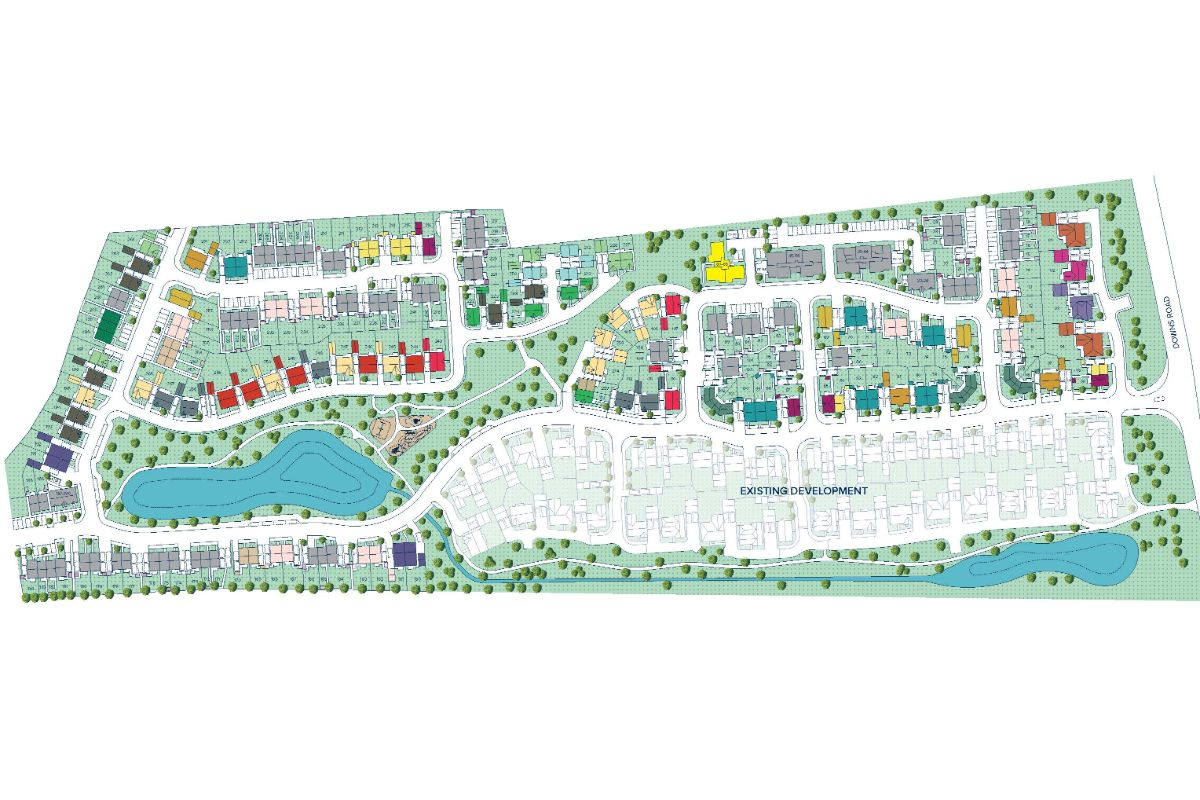 Colwell Green plan