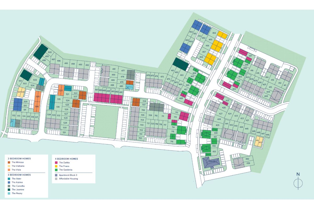 Brooklands Park plan