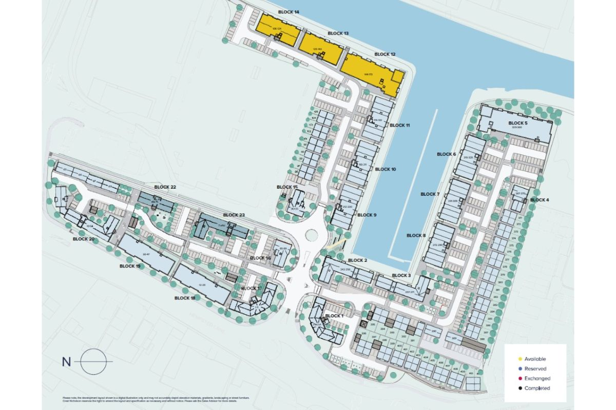 The Waterfront at Gloucester Quays plan
