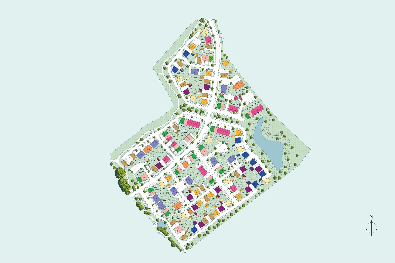 Sevington Lakes plan