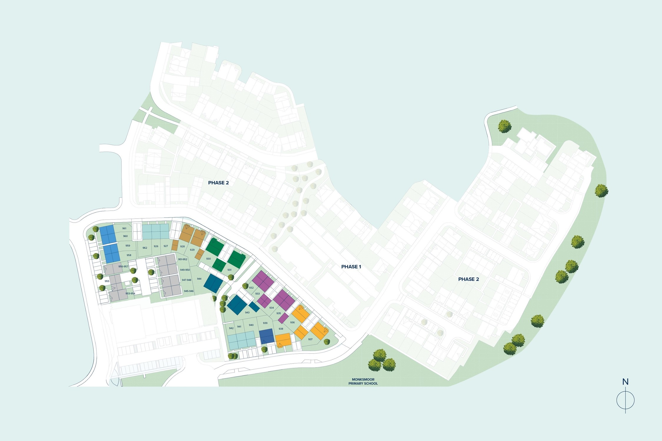 Central Point at Monksmoor Park plan