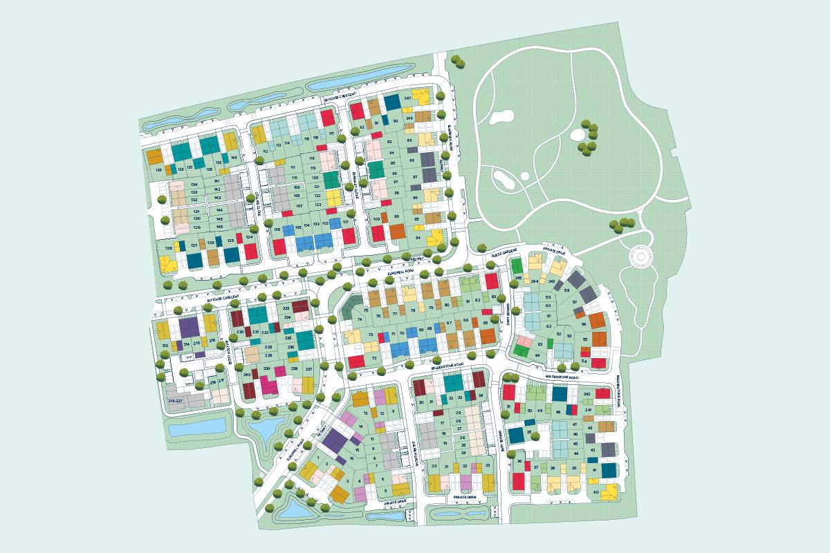 Morton Park plan