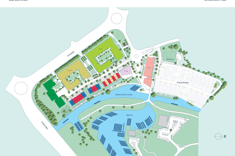 Campbell Wharf plan