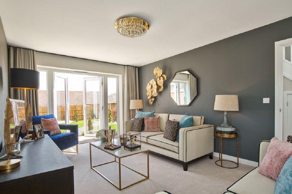 the keswick living room