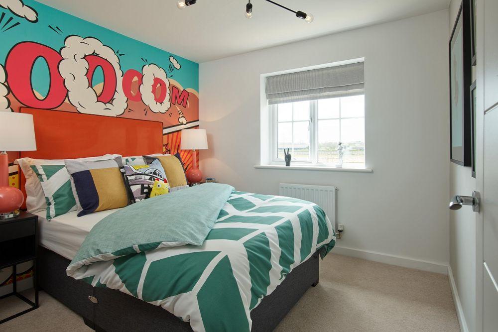 The Keswick Bedroom 3 (Wycke Place)