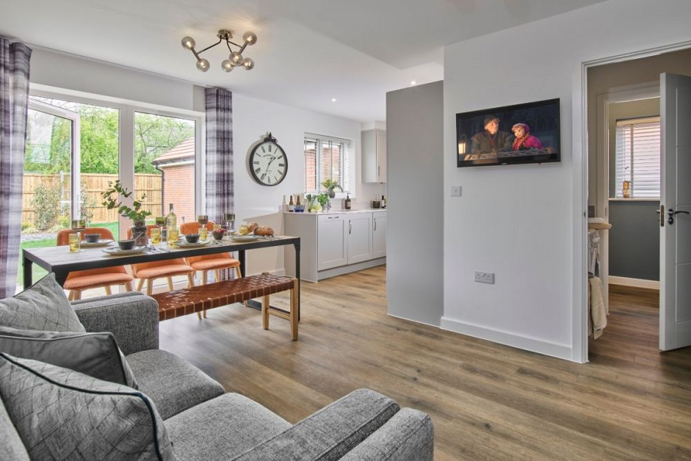 The Romsey Dining Area and Utility Bathroom (Willow Place)