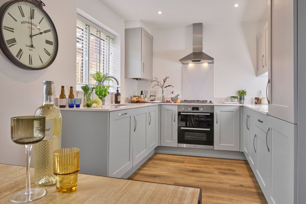 The Romsey Kitchen and Dining Area (Willow Place)