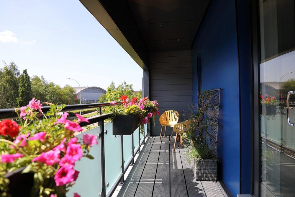 Woodlands Park - Lotus House Balcony