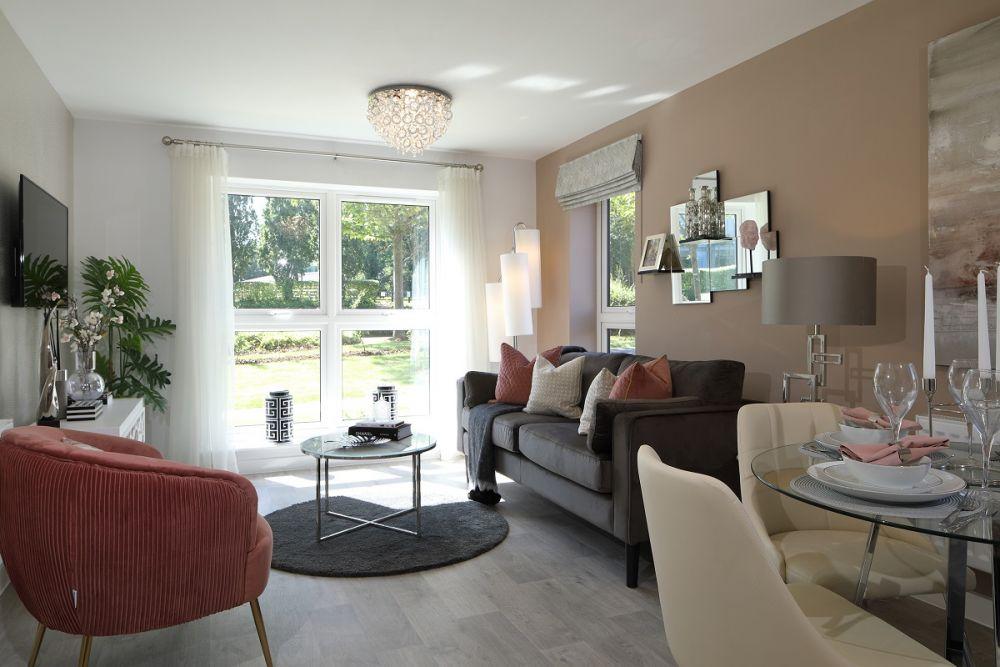 Woodlands Park - Lotus House Living Area