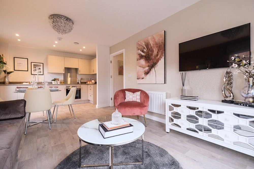 Woodlands Park - Lotus House Living Room 2