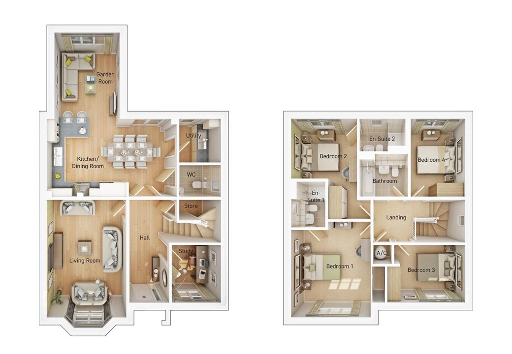 The Stratford floorplan image