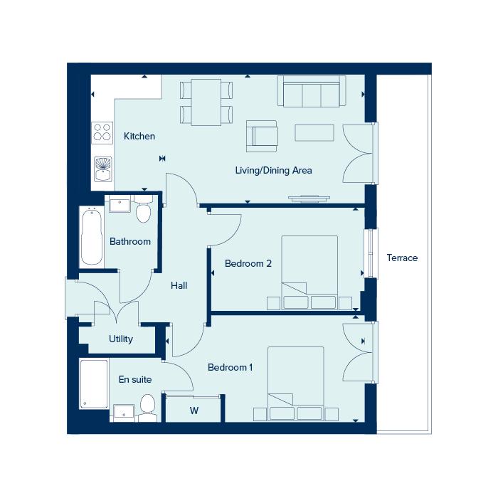 Apartment Type 5 floorplan image