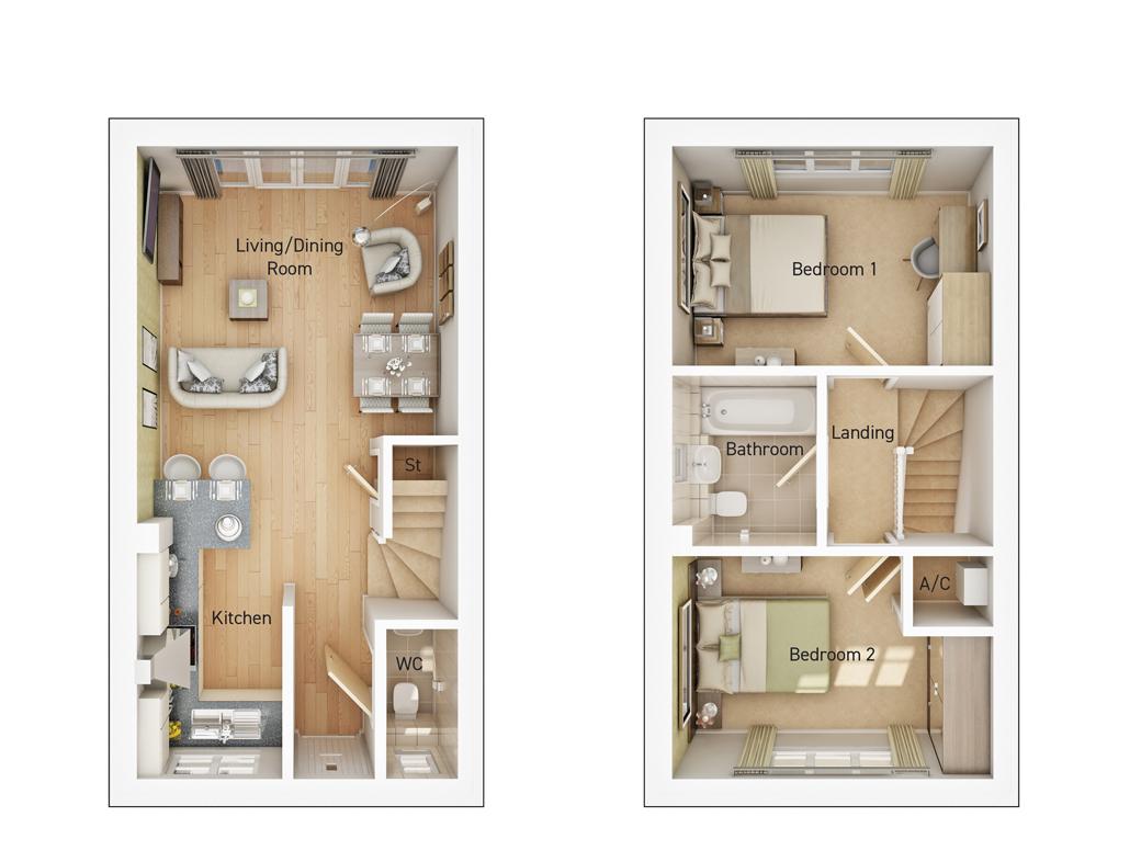 The Shipston floorplan image