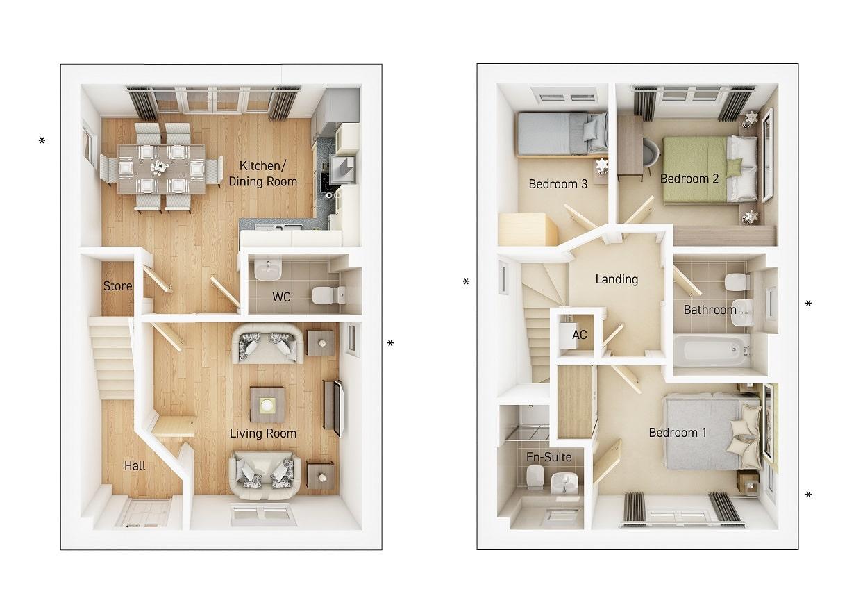 Broadwell floorplan image