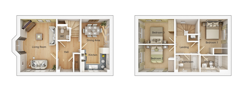 The Upton floorplan image
