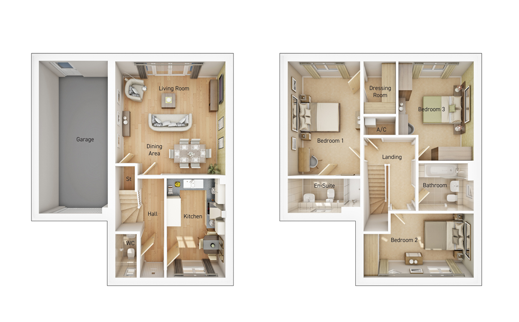 The Sheldon floorplan image