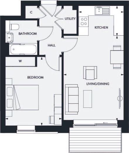 Type 103 floorplan image