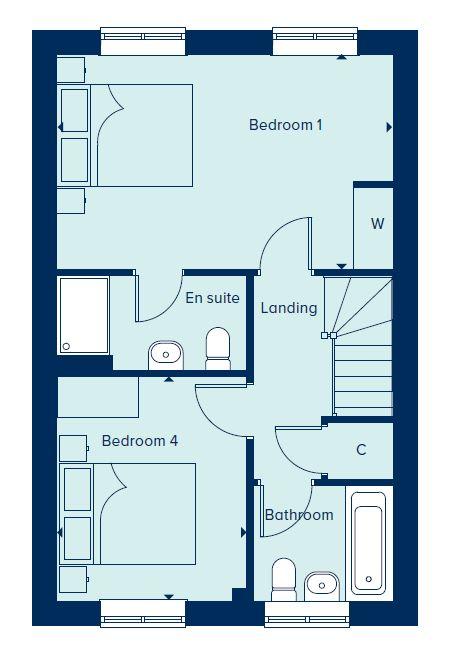 Second Floor floorplan image
