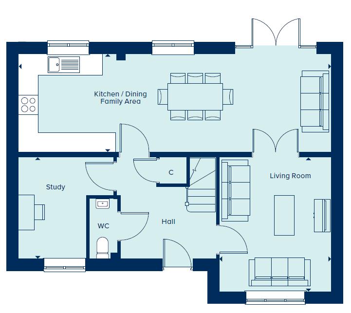 Ground Floor  floorplan image
