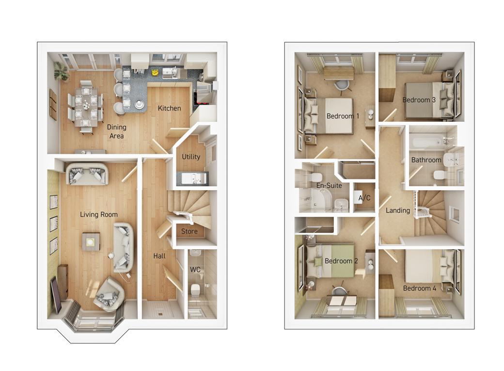 The Norton floorplan image