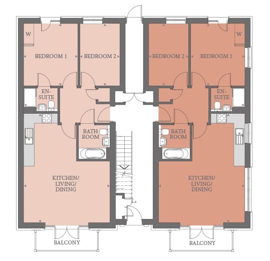 Ground Floor Apartment  floorplan image