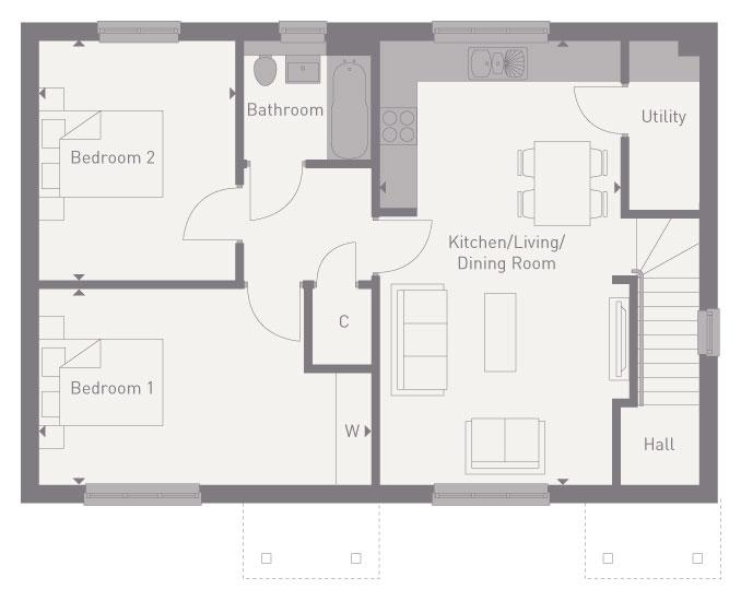 Plot 80 floorplan image